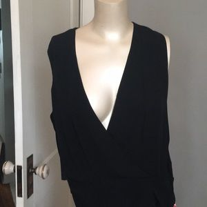 Theory silk top . Brand new with tags. 195 retail